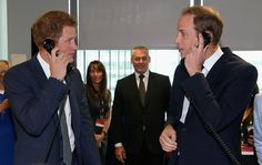 "Sept 11 2013 The Duke of Cambridge and Prince Harry joked with each other as they made multibillion-pound deals for charity on a City trading floor. The brothers brokered big-figure trades they shouted remarks at one another, and Prince Harry ribbed his brother, who is a new father, for being preoccupied with ""baby chat"". The Princes were at brokerage firm BGC Partners in London's Docklands to raise money in memory of people who died in the attacks on New York's Twin Towers on September 11…"
