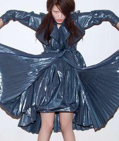 Dresses plastic bag