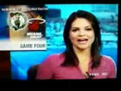 Portland Maine News Anchor Reports Celtics, Heat Game 4 Ends In A Tie