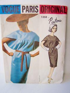 Vogue 1358 Paris Original Jean Patou Dress by WitsEndDesign