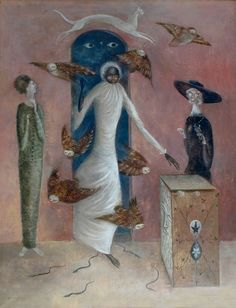 Annunciation ~ Leonora Carrington