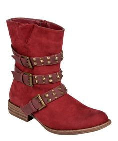 Love this Red Tate Boot on #zulily! #zulilyfinds