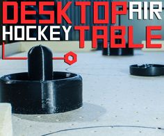 Here's how to build a small air hockey table, that is both cheap and portable. As well as this, you can make it any size, depending on the box you use. A plastic box was used for simplicity; it means you can experiment with the air flow easily.An air hockey table works by creating a cushion of air beneath the puck, so that it moves smoothly. As oppose to using an expensive blower, some old CPU fans were used. These are less powerful, so the table is scaled down.Things you'll need:Table►MDF…