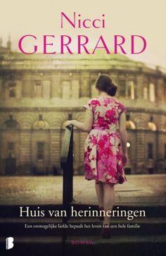 nicci gerard huis van herinneringen - Google zoeken Best Books To Read, Good Books, My Books, Thrillers, Romans, Cover Design, Book Worms, Strapless Dress, Livres