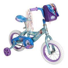 Brand New Disney Frozen Huffy Elsa Anna 12 Girls Bicycle Training Wheels Kids Bike