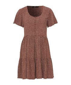 Short Sleeves, Short Sleeve Dresses, Dresses With Sleeves, Casual Clothes, Casual Outfits, Red Dots, Dot Dress, Color Mixing