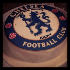 Chelsea cake for my bfriend:)