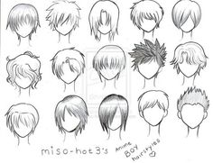 boy hairstyles! <3