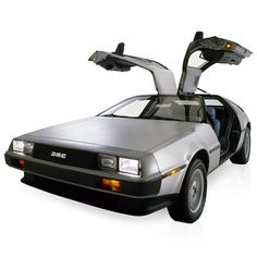 'Can you meet me at Twin Pines Mall tonight at 1:15? I've made a major breakthrough, I'll need your assistance.' No, it's not Doc Brown calling, it's Firebox because we've got hold of this amazing DeLorean car. With a top speed of 125mph it easily exceeds 88mph - incredible as this stupendous retro-modern vehicle is electric!