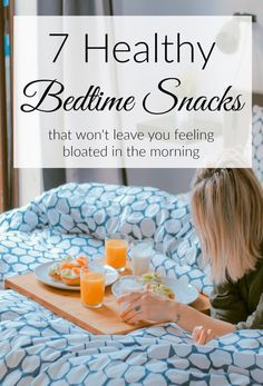 Make sure you stick to one of these healthy bedtime snacks if you have the need to nosh at night. Holistic Nutrition, Nutrition Tips, Health And Nutrition, Healthy Bedtime Snacks, Healthy Protein Snacks, Healthy Breakfasts, Eating Healthy, Eating At Night, Clean Eating Challenge