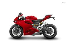 """Ducati has unveiled its updated """"Supermid"""" Panigale model, now dubbed the 959 Panigale. The revisions include a larger engine with some changes to meet strict Euro 4 emissions standards, along with very slight chassis changes. Ducati Superbike, Motogp, Hobbies For Adults, Rc Hobbies, New Ducati, Supersport, Super Bikes, Road Racing, Cool Bikes"""