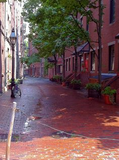 Boston's North End Boston - let's move somewhere that looks like this