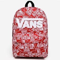 Vans New Skool Backpack Off The Wall, Vans, Backpacks, Accessories, Van, Backpack, Backpacker, Backpacking, Jewelry Accessories