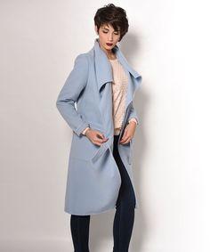 "Vaya Fashion Boutique on Instagram  ""Παλτό με ιδιαίτερο γιακά και στο  υπέροχο light blue jean χρώμα για να κλέβετε τις εντυπώσεις και στις πιο   casual ... cf2ad3bf5b7"