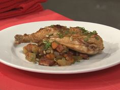 Maple and Cayenne Glazed Chicken Recipe : Anne Burrell : Recipes : Food Network