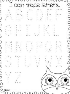Free Pre K Worksheets: FREE Beginning Sounds Letter Worksheets for Early Learners    ,