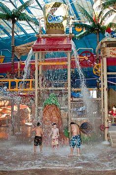 Sahara Sam's Oasis Indoor Water Park - West Berlin, NJ