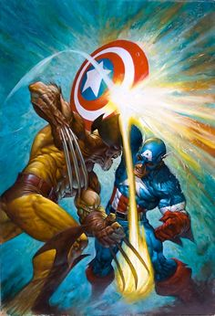 Wolverine vs Captain America