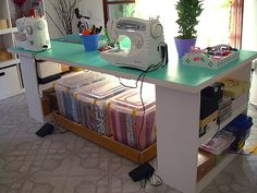 Craft Rooms : Tofu Studio - lots of ideas