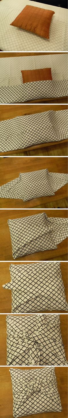 DIY no sew cushion covers » Random Tuesdays