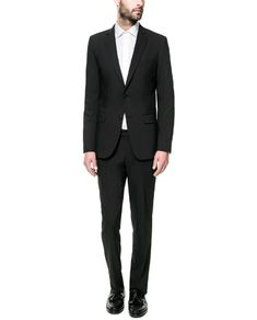 BASIC CHARCOAL SUIT - Suits - Man - New collection   ZARA United States 24fd2768d6d