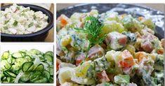 Egyik finomabb, mint a másik! Meat Recipes, Cooking Recipes, Healthy Recipes, Health Lunches, Cold Dishes, Hungarian Recipes, Potato Salad, Food To Make, Food And Drink