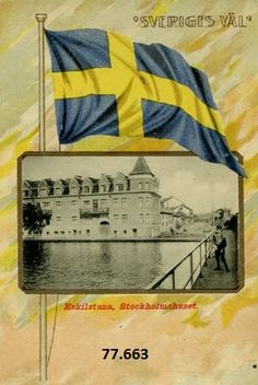 Vykort Södermanland Eskilstuna Flag, Country, Logos, Art, Art Background, Rural Area, Logo, Kunst, Science