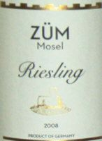 Schafer-Reichart, ZUM Mosel Riesling