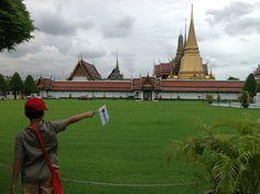 Wat Phra Kaew Temple of the Emerald Buddha Bangkok thailand Bangkok Thailand, Titanic, Yolo, Statue Of Liberty, Palace, Temple, Buddha, Emerald, Beautiful Places