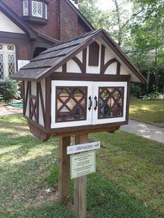 8bd6f2703 87 Best Little Free Library images