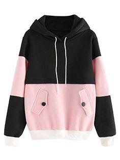SweatyRocks Sweatshirt Women Colorblock Pullover Fleece H... https://www.amazon.com/dp/B01N590MIP/ref=cm_sw_r_pi_dp_x_g3HDzbXGFX10C