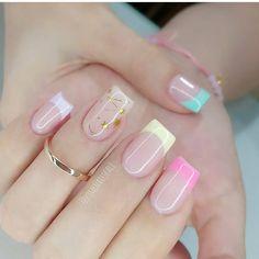 """uñas_perfects en Instagram: """"Woow como quedó? 😍 Si te gustan👍 estos hermosos😍 diseños de uñas💅 dale like😉, comenta💬 y sigueme para mas contenido @unas_perfects…"""" Gorgeous Nails, Love Nails, Fun Nails, Pretty Nails, Flamingo Nails, Heart Nail Designs, Pink Acrylic Nails, Neutral Nails, Heart Nails"""