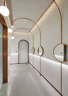 Corridor Lighting, Interior Lighting, Ceiling Design, Wall Design, Jewelry Store Design, Corridor Design, Beauty Salon Decor, Hospital Design, Toilet Design
