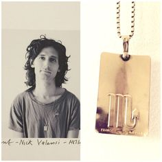 Nick Valensi, guitarist from The Strokes, tells us the story of this special pendant that belonged to his father. See his future heirlooms story here. Photo: Amanda de Cadenet #LoveGold #FutureHeirlooms