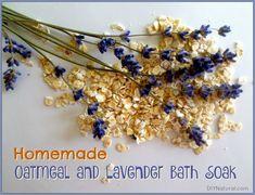 Homemade Oatmeal Bath Soak Recipe