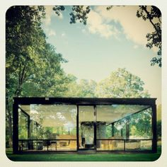 The Glass House by Philip Johnson - aka my favorite architect and dream house Residential Architecture, Amazing Architecture, Interior Architecture, Building Architecture, Casa Farnsworth, Philip Johnson Glass House, Johnson House, Design Case, My Dream Home