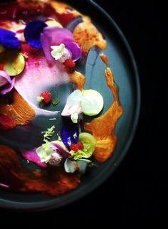 by Yann Bernard Lejard Chefs, Gourmet Recipes, Cooking Recipes, Luxury Food, Food Plating, Plating Ideas, Molecular Gastronomy, Culinary Arts, Creative Food
