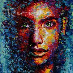 La Diosa Misteriosa  Acrylic on Canvas 140 cm x 180 cm