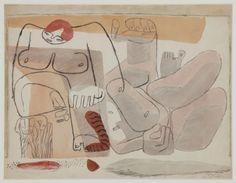 Chute de Barcelona (The Fall of Barcelona [Sketch for the Painting]) Le Corbusier (Charles-Edouard Jeanneret) La Chaux-de-Fonds, Switzerland, 1887 - Roquebrune Cap Martin, France, 1965