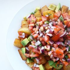 I never met a potato salad I didn't like. The recipe for this Mexican version is up now #vegantastesbest
