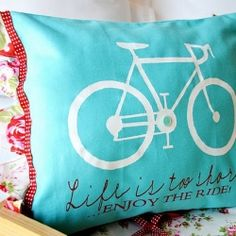 "Love the bicycle and the quote.   Too bad I don't DIY!!!  Maybe I could have a FDIFM - a ""Friend Do It For Me"""