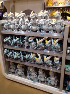 Pokemon Photos from Tokyo - Black Kyurem White Kyurem plush dolls at Pokemon Center Tokyo