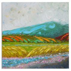 unusual artwork creek painting relax painting pastoral