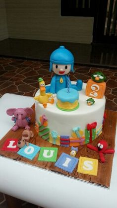Pocoyo n friends