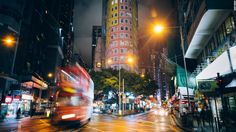 The neighborhood of Wan Chai, near the city's central business district, is home to tram lines, a vibrant bar scene, outdoor markets, heritage sites like the Blue House and The Pawn, as well as new high-rise developments.