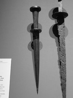 Scheibendolch 15. Jahrhundert