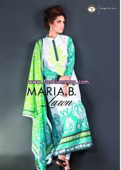 Maria B Lawn Collection For Women 2013