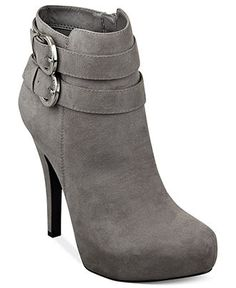 G by GUESS Boots, Gemm Platform Booties - Boots - Shoes - Macy's Super Sexy, only $79!!