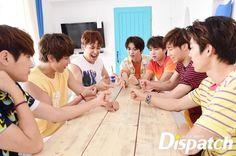 160721 #인피니트 - That Summer Concert 3: Behind the Scenes Photoshoot by DISPATCH