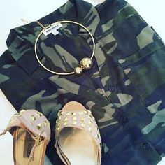 The perfect summer flat lay outfit featuring our Noor choker necklace.